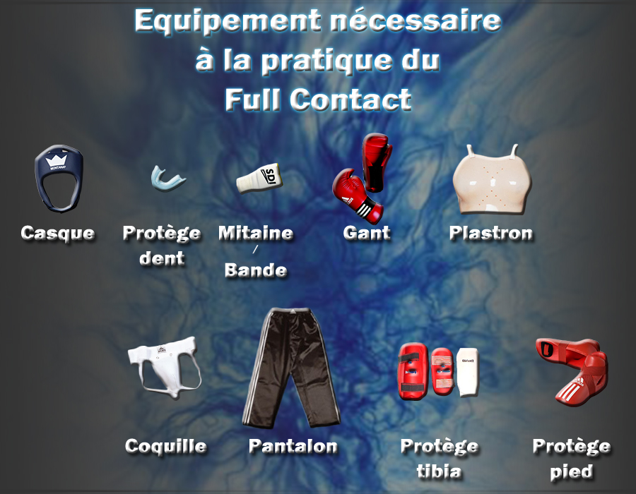equipement full contact